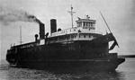 CHIEF WAWATAM off Mackinaw City dock