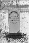 Pioneer cemetery, Bronte St., Milton prior to restoration