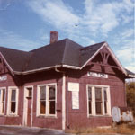 Canadian National Railway station, Bronte St., Milton