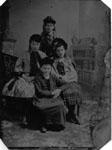 Four girls.  Clockwise from top - Lottie Hunter, Kate Dewar, Annie Clements, Winnie Bennett