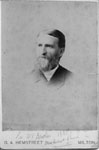 Rev. David. L. Brethour, Minister, Wesleyan Methodist. d.1903