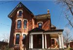 100 Victoria Street, Milton, Ontario.  Built 1887 for John M. Bastedo, merchant