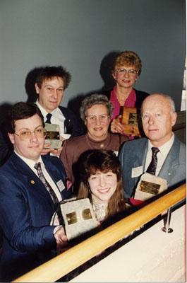 Milton Heritage Awards.  1992 Winners