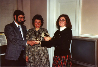 Milton Heritage Awards.  1993 Winners