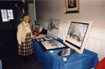 Milton Heritage Awards.  February 1997.  Elizabeth Hoey, winner of the 1996 award for the Visual category.