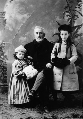 Dr. Clarkson Freeman with granddaughters