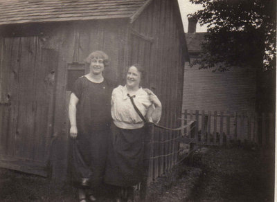 Nellie Cunningham and Vera Busset
