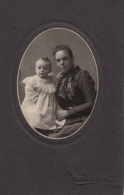 James Cunningham and his mother Lizzie Coulson