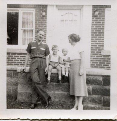 The Tickner family in Milton