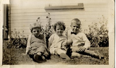 Leslie and Gloria Tickner and George Ingelson (from Toronto)