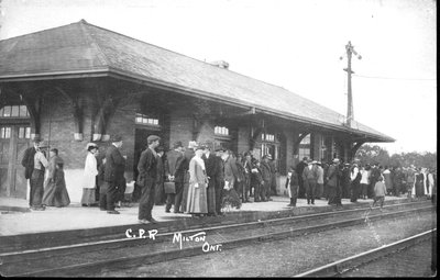 C.P.R. Station, Milton, Ontario