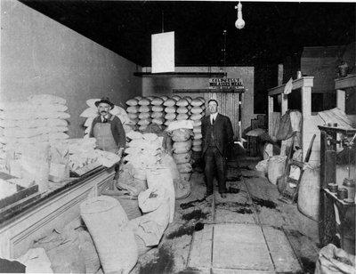 Blain and Hannant feed store