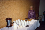 New Year's Levee, 1993. Coffee is served by Jessie Hamilton.