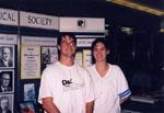 Milton Historical Society Display.  September 1997.  Milton Mall.