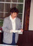 Milton Historical Society Meeting.  June 1993. Susan Bennett