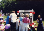 Milton Historical Society exhibit.  Canada Day, 1991