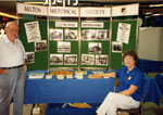 Milton Historical Society Display.  September 1991.  Milton Mall.