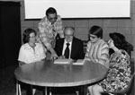 Milton Historical Society.  First Executive Meeting, 1977