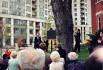 Official opening of John Thompson House, 34 Parkview Avenue, Toronto.  May 2, 1998.   Home of the Ontario Historical Society.