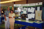 Milton Historical Society display at the Milton Mall Community Day