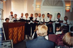 "Milton Heritage Awards, 1996.  The ""Song Spinners""."