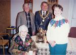 New Year's Levee.  1997.  Mayor Gordon Krantz and Marie Clements