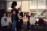 Milton Heritage Awards, 1997.  St. Peter's School, winners of the 1996 Award for education.