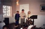 Milton Heritage Awards. February 1997.  1996 Visual Arts Award to Elizabeth Hoey and Martha Hoey-Weston.