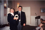 Milton Heritage Awards, 1997. 1996 Education award accepted by Nancy Pepper.