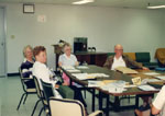 Milton Historical Society, 1988. Executive meeting.