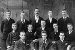 Boarders and friends who stayed at the McGibbon Hotel 1900.