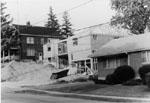 House under construction on Pine Street, Milton.