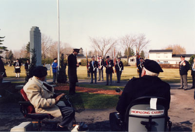 Remembrance Day Service, Milton Cemetery