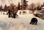 Winter Carnival.  Milton, Ontario.  1982