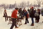 Winter Carnival, Milton, Ont. 1982