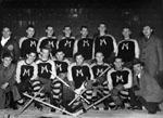 Milton Hockey Team.  Senior Champions, All Ontario (O.R.H.A.) 1941-1942