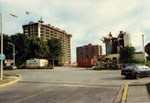 The Mill being demolished. 1990