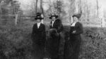 Three ladies, Easter 1914