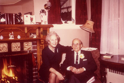 Margaret Maxted, Treasurer of Halton County.  Born 1903.  Died 1986