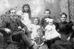The Albert Featherstone family, Town Line, Trafalgar/Nelson