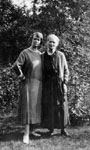 Aggie Ross Willmott and her mother Aggie Willmott