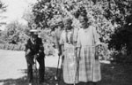 Rev. M. J. and Mrs. Wilson and Willmotts playing croquet.