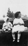 Jane Clendenning and little cousin