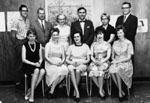 School Staff photograph.  1964-65