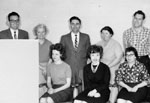 School staff photograph, 1962-63