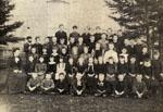 Senior class at Bruce Street Public School, Milton