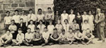 Entrance class of students at Bruce Street School, Milton