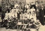 Grade 8 class at Bruce Street Public School, Milton