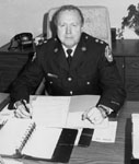 Chief Ean Algar.  Halton Regional Police Force