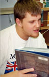 Derek Bell, student